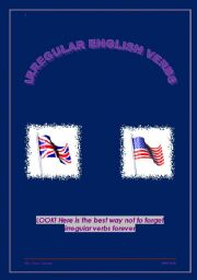 The smartest way to learn irregular English verbs
