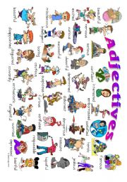 English Worksheet: Adjective Poster 5