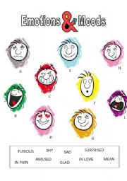 Printables Mood Worksheets english teaching worksheets describing moods emotions moods