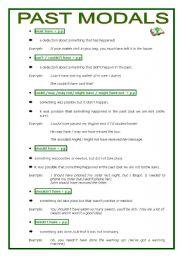 Notes on modals grammar