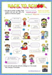 English Worksheet: Personal identification -  Elementary students