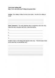 English Worksheets: writing skill