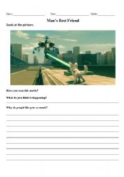 English Worksheets: Writing Prompt