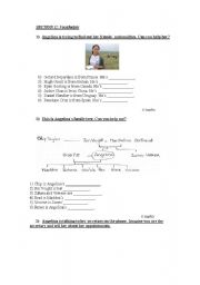 English Worksheet: Adults 1 test Part 3