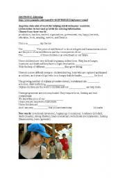 English worksheet: Adults 1 test Part 4