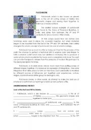 English Worksheets: Patchwork