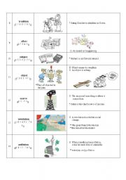 English Worksheets: Basic Words (1)-2