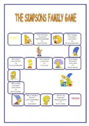 The Simpson Family Game