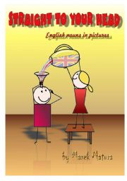 English Worksheets: A cover for English Nouns in Pictures -
