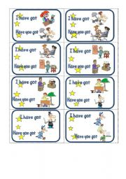 English Worksheets: JOBS/PROFESSIONS chain game PART 1 of 3