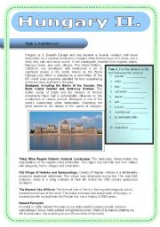 English Worksheet: Hungary II.