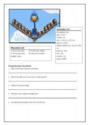 English Worksheets: For the Birds Pixar Short
