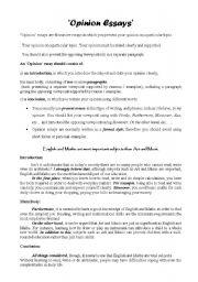 Esl essay topics