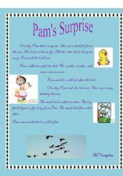 English Worksheets: Pam� Surprise