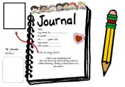 English Worksheets: Journal Cover
