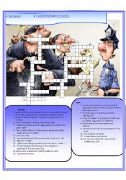 Crime crossword