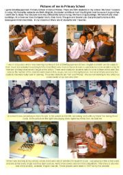 English Worksheet: Primary School in Thailand