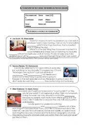 English Worksheets: My fav TV types of programmes