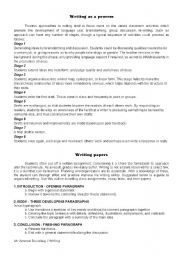 English Worksheets: Writing papers