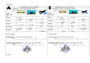 English Worksheets: information gap activity