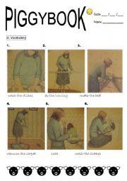 English Worksheets: PIGGYBOOK