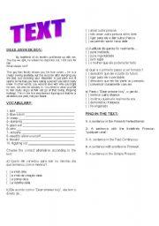 English Worksheets: DEAR ANSWER BOY