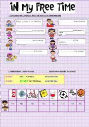 In my free time esl worksheet by missundaztood74 in my free time ibookread ePUb