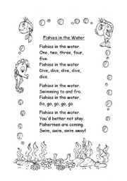 English Worksheet: A nice poem