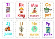 Alphabet flashcards 2