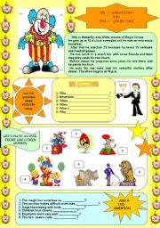 English Worksheets: WH-questions and TAG-questions