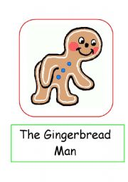 Gingerbread Man Flaschcards