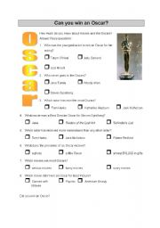 Quiz - Can you win an Oscar?