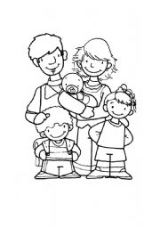 math worksheet : english teaching worksheets family members : Kindergarten Family Worksheets