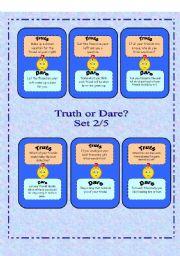 Truth or Dare? -  Set 2/5