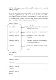 English Worksheets: about myself