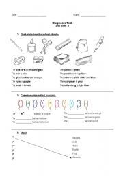 Printables Bilingual Worksheets english teaching worksheets 2nd grade diagnosis exam grade