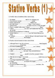 Stative Verbs (1)