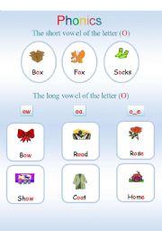 English Worksheets: Phonics1