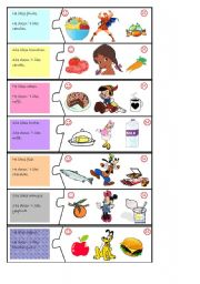 English worksheet: PUZZLE GAME