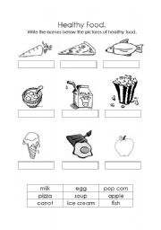 Worksheet Eating Healthy Worksheets english teaching worksheets healthy food food