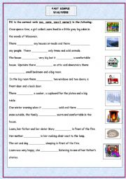 English worksheets: Simple Past worksheets, page 164