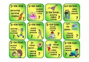 English Worksheets: Getting the right word - CARD GAME