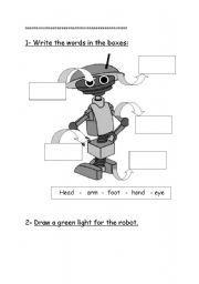 English Worksheets: robt part