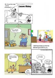 English Worksheets: For fun- Caricature 2