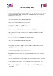 English Worksheet: In search of our students´ motivation