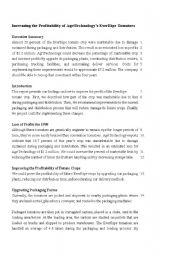 English Worksheet: Proofreading Exercise_6