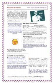 English Worksheets: CHUPA CHUPS