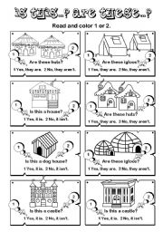 English Worksheets: Is this... Are these...? series (3/7)