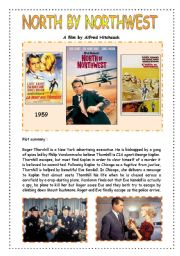 Film by Alfred Hitchcock : North by Northwest