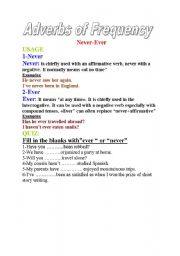 English Worksheets: The use of